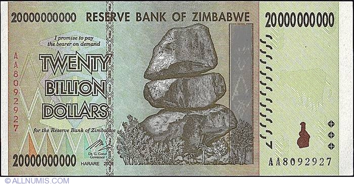 50 Billion Dollar Banknotes Authentic