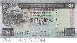 Image #1 of 20 Dollars 1994 (1. I.)