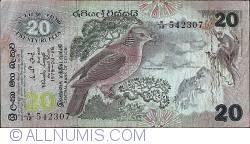 Imaginea #1 a 20 Rupees 1979 (26. III.)