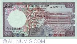 Imaginea #1 a 20 Rupees 1985 (1. I.)
