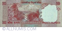 Image #2 of 20 Rupees ND (2002) - signature Y. V. Reddy (89)