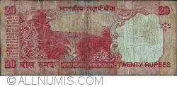Image #2 of 20 Rupees ND (2002) - signature Bimal Jalan (88)