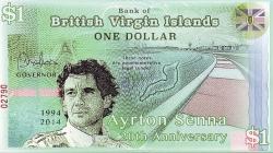 Image #2 of 1 Dollar 2014 - 20 Years since the death of Ayrton Senna (1960-1994)