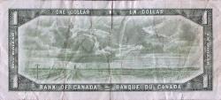 Imaginea #2 a 1 Dolar 1954 - Replacement note