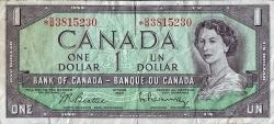 Imaginea #1 a 1 Dolar 1954 - Replacement note