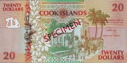 Image #1 of 20 Dollars ND(1992) - SPECIMEN.