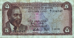 Image #1 of 5 Shillings 1966 (1. VII.)