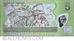 Imaginea #2 a 5 Dollars ND (2012) - Replacement Note