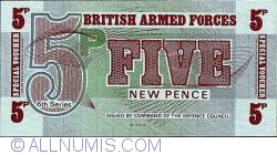 Image #1 of 5 New Pence ND (1972)
