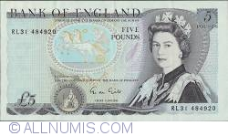 Image #1 of 5 Pounds ND (1988-1991)