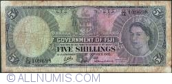 Image #1 of 5 Shillings 1965 (1. X.)