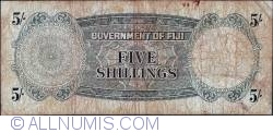 Image #2 of 5 Shillings 1965 (1. X.)