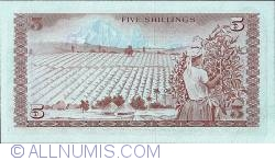Image #2 of 5 Shillings 1978 (1 July)