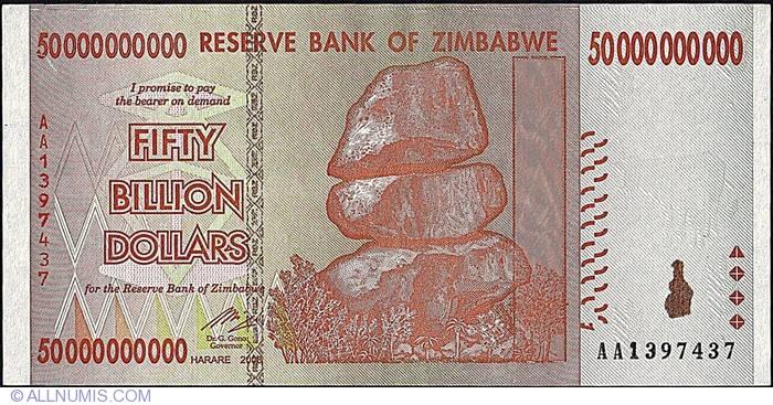 50 Billion Dollars 2008 2007 Issue Third Dollar Zwr