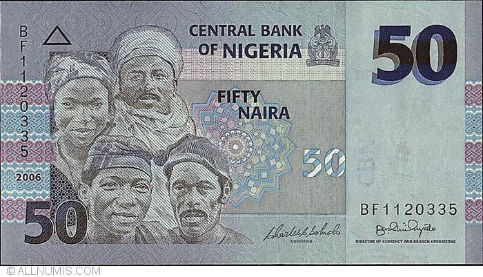50 Naira 2006 2005 2018 Issue