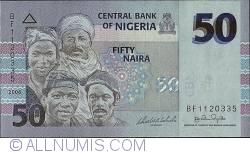 Image #1 of 50 Naira 2006