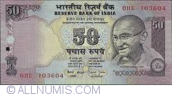 Image #1 of 50 Rupees ND (1997)