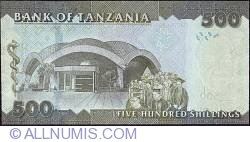 Image #2 of 500 Shillings 2010 (ND)