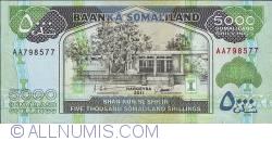 Imaginea #1 a 5000 Shillings 2011