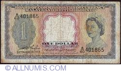 Image #1 of 1 Dollar 1953 (21. III.)