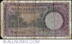 Imaginea #1 a 5 Shillings 1958