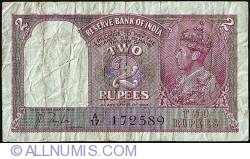 Image #1 of 2 Rupees ND (1937)