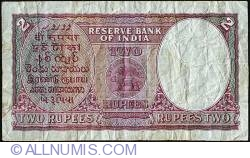 Image #2 of 2 Rupees ND (1937)