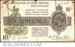 Imaginea #1 a 10 Shillings ND (1922-1923)