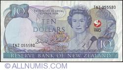 Image #1 of 10 Dollars 1990 - serial # prefix TNZ