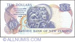 Image #2 of 10 Dollars 1990 - serial # prefix TNZ