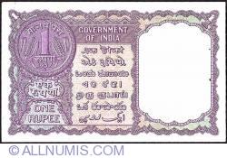 Imaginea #2 a 1 Rupee 1957 - C