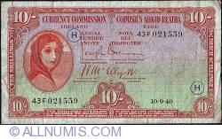 Imaginea #1 a 10 Shillings 1940