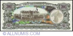 Image #2 of 3 Dollars (300 Cents) 2001 B.