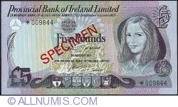 Image #1 of 5 Pounds 1977 - Specimen