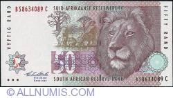 Imaginea #1 a 50 Rand ND (1992)
