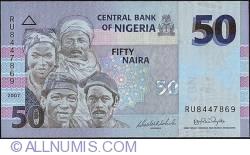 Image #1 of 50 Naira 2007