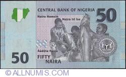 Image #2 of 50 Naira 2007