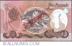 Image #2 of 10 Pounds 1977 - Specimen