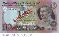 Image #1 of 10 Pounds 1977 - Specimen