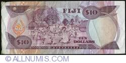 Imaginea #2 a 10 Dollars ND (1980)