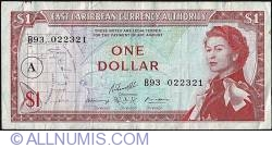 Image #1 of 1 Dollar ND (1965) - A