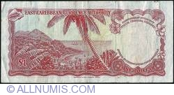 Image #2 of 1 Dollar ND (1965) - A