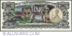 Image #2 of 10 Dollars (1,000 Cents) 2001 B.