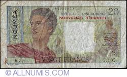Image #1 of 20 Francs ND (1941-1945)