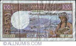 Imaginea #1 a 100 Francs ND (1975)