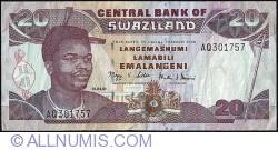 Imaginea #1 a 20 Emalangeni 2001