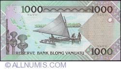 Imaginea #2 a 1000 Vatu 2005