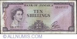 Imaginea #1 a 10 Shillings ND (L1960) (1964)