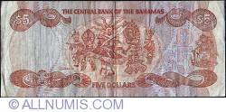 Image #2 of 5 Dollars L1974 (1984)
