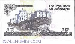 5 Pounds 2005 - 500 de ani de la înfințarea  Royal College of Surgeons, Edin